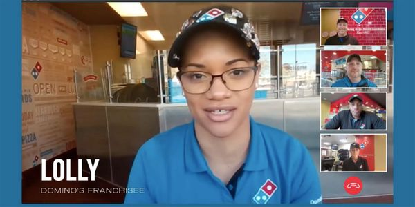 Dominos Is Hiring Zoom Ad